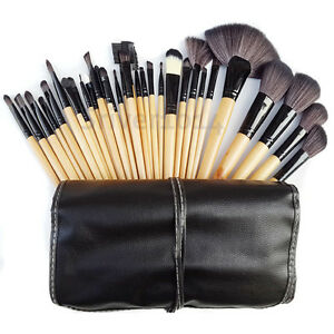 Image is loading 32pcs-Professional-Soft-Eyebrow-Shadow-Makeup-Cosmetic- Brush- 0cbe2a01acf08