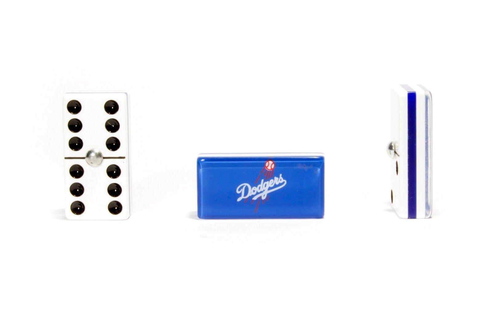 Los Los Los Angeles Dodgers Deluxe Set 3 Games Domino, Dice