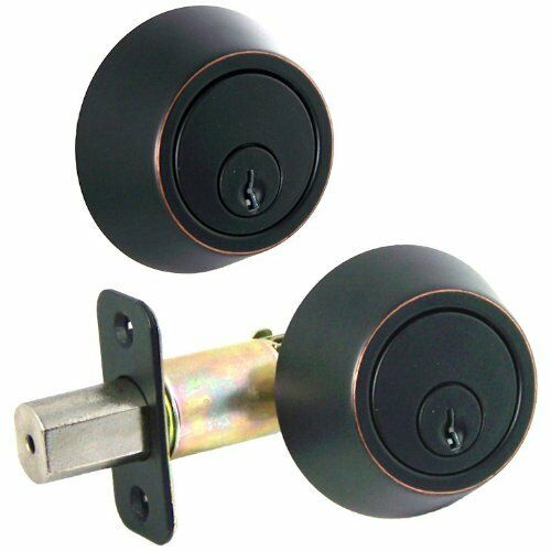 Designers Impressions Kingston Design Oil Rubbed Bronze Door Lever Knob Hardware