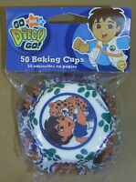 Go Diego Go Nick Jr. Wilton Brand Baking Cups Cup Cakes Unopened 50 In Pkg