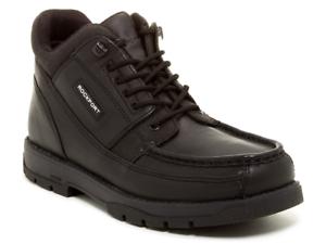 Rockport Marangue Men's bota, Negro Cuero Tamaño 11.5