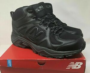 all black new balance boots