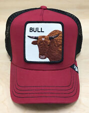 Goorin Bros Bull Animal Farm Collection Red Trucker Hat Cap