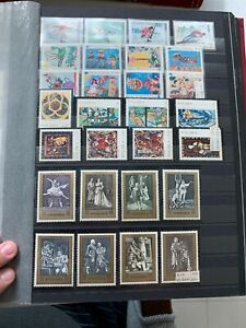 Poland-1968-1971-Mnh-Stamp-Lot-Grenoble-Winter-Olympic