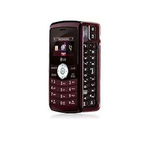 verizon lg vx9200 env3 cellular phone maroon ebay rh ebay com Refurbished Verizon LG enV3 LG enV3 VX9200
