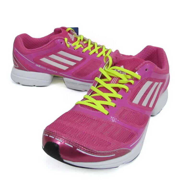 NEW~Adidas ADIZERO gym FEATHER Running Shoes gym ADIZERO marathon Trainer response~Womens 10 50a8e3