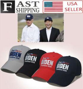 Vote Joe Biden For President 2020 Baseball Cap Unisex Hat Embroidery Adjustable
