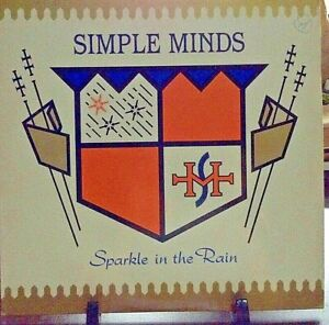 SIMPLE MINDS Sparkle in the Rain Album Released 1984 Vinyl/Record Collection US