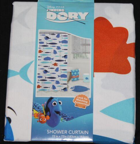 Disney Pixar Finding Dory Shower Curtain kids bath 72x72 new