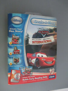 Vtech-Disney-Radiator-Springs-International-Create-A-Story-Ages-5-new-free-ship