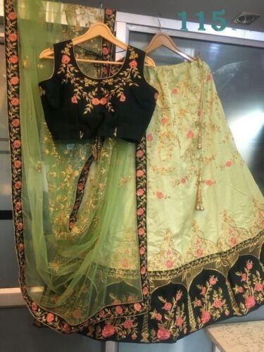 Embroidery Work Lehenga Choli Designer Bridal Wedding Wear Lengha Women LG-115