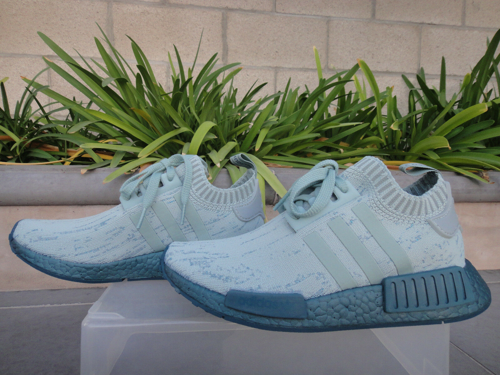 Adidas originali impulso nmd verde, r1 w primeknit al verde, nmd cg3601, wmn sz 7 (desc) cc544a