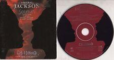MICHAEL JACKSON & JANET CD single SCREAM 2 tracce + CHILDHOOD  cardsleeve 1995