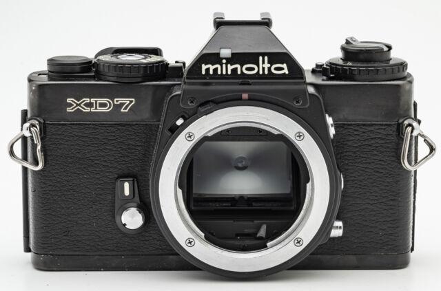 Minolta XD-7 Body Gehäuse SLR Kamera Spiegelreflexkamera schwarz