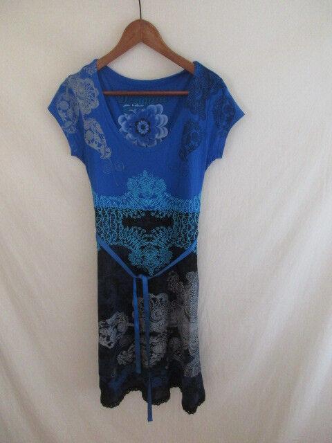 Dress Desigual bluee Size M to - 50%