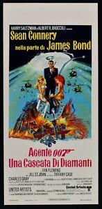 Plakat Ein Wasserfall Von Diamanten Sean Connery James Bond - Agent Geheimnis