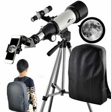 70mm Apeture Travel Scope 400mm AZ Mount with Backpack
