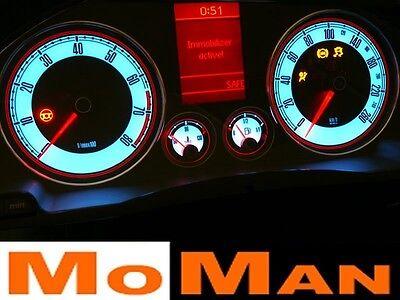 Volkswagen Golf Mk5 Jetta Touran glow gauges plasma dials tachoscheiben VW VAG