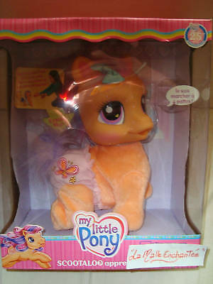 Mon Petit Pony Scootaloo Learn A Walking Plush New 5010994327934 Ebay Hey hey hey i am finaly back on the mods with my new project dedicated just for scootaloo. ebay