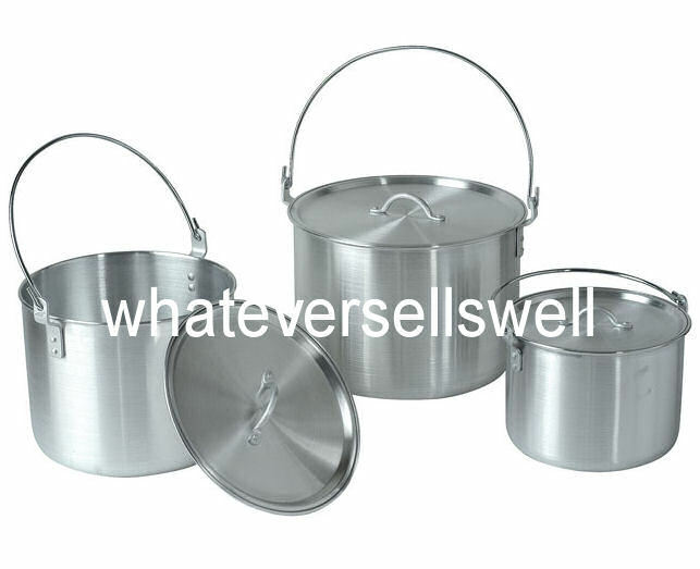 BILLY CAN CAMPING saucepans FAMILY COOKSET POTS PAN SET are nesting cookware saucepans CAMPING 18140a