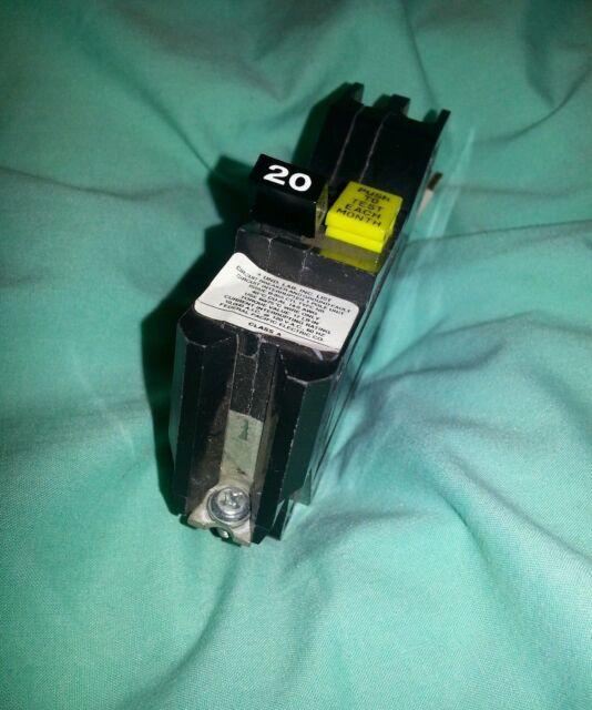 Nagf120- Federal Pacific 20 a GFI GFCI Breaker NAGF120 | eBay