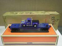 Lionel 36056- Flat Car W/ Ford Truck- Direct Sale- 0/027- Mint- W45