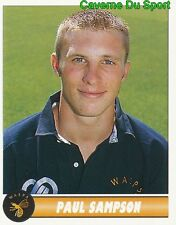 247 PAUL SAMPSON ENGLAND WASPS STICKER PREMIER DIVISION RUGBY 1997-1998 PANINI