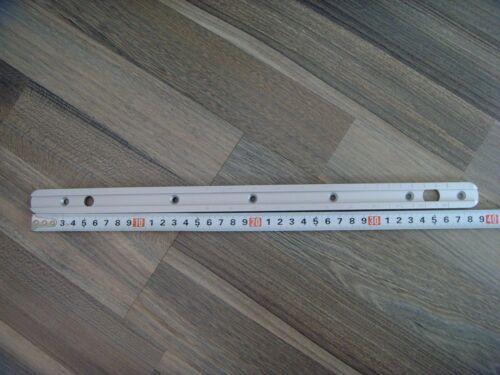 Anschutz aluminium rails 39.2cm long   aluminum accessory rail 11 mm