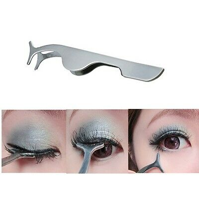 Beauty Tools Multi functional False Eyelashes Stainless Steel Tweezers  Eyes