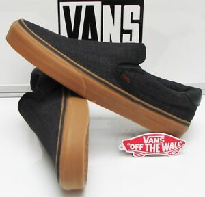 50b1354d08 Vans Slip-On 59 (Denim C L) Black Gum VN-0A348UL2T Men s Size  7.5 ...