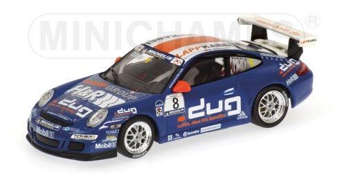 PORSCHE 911 gt3 M. Schrey Supercoppa PORSCHE 2006 1 43 MODEL MINICHAMPS