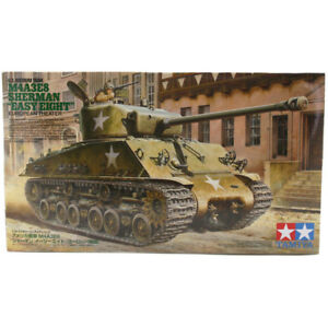 "Tamiya M4A3E8 Sherman ""Easy Eight"" Tank Model Set (Scale 1:35) 35346 NEW"