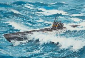 Revell-Deutsches-U-Boot-TYPE-VII-C-41-Atlantic-Version-1-144-Revell-05100