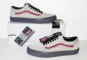 Image is loading Vans-X-Nintendo-Old-Skool-Console-Dove-Women- 4405b4d9d3211