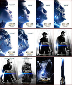 Image Is Loading 12pc Star Trek Discovery 2017 Mirror Surface Card