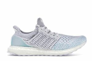 127ced23f0483 Image is loading adidas-Ultra-Boost-Clima-Parley-White-Blue-BB7076-