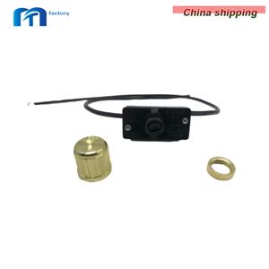 Zing Ear ZE-256 Rotary Dimmer Light Lamp Switch Brass 500W
