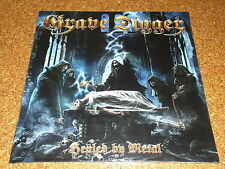 GRAVE DIGGER  -  Healed By Metal    /  LP  -  BLACK  -  VINYL   /   NEW & SEALED