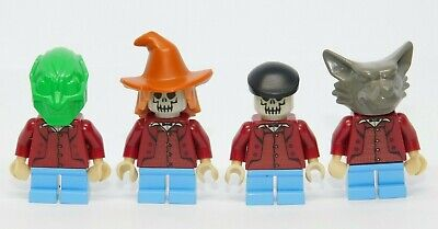 LEGO NEW WHITE MINIFIGURE CLOWN CONE HAT POM POM AND BLACK BAND PATTERN