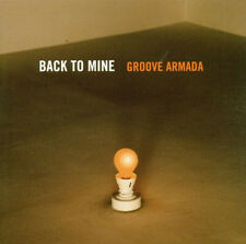 GROOVE ARMADA = back to mine =CD= TRIP HOP ELECTRO DOWNTEMPO HOUSE SOUNDS