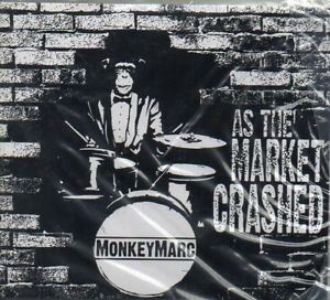 MonkeyMarc-As-The-Market-Crashed-DigiPak-CD-New-amp-Sealed