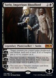 Vengeful Bloodlord seigneur de sang vengeur MTG magic WAR MRM ENGLISH Sorin