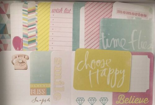 Cute Dreamy Edition By Heidi Swap For Project Life Double Sided Photo Cards