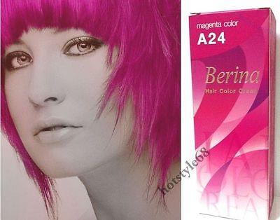 Haarfarbe magenta pink
