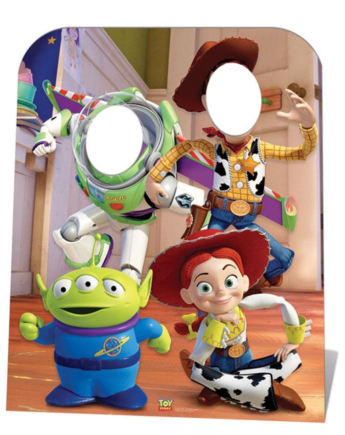 Toy Story Standin a Misura di Bambino Sagoma Cartone in Piedi da solo Buzz Woody
