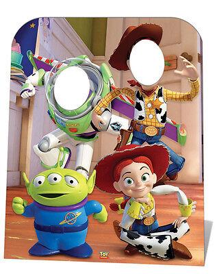 Toy Story Standin CHILD SIZE CARDBOARD CUTOUT STANDEE STANDUP Buzz Woody Jessie