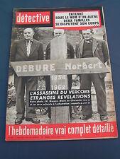 Détective 1963 884 CHORANCHE NICEY SAINT JEAN MONTS GRAND FORT PHILIPPE NUGUES