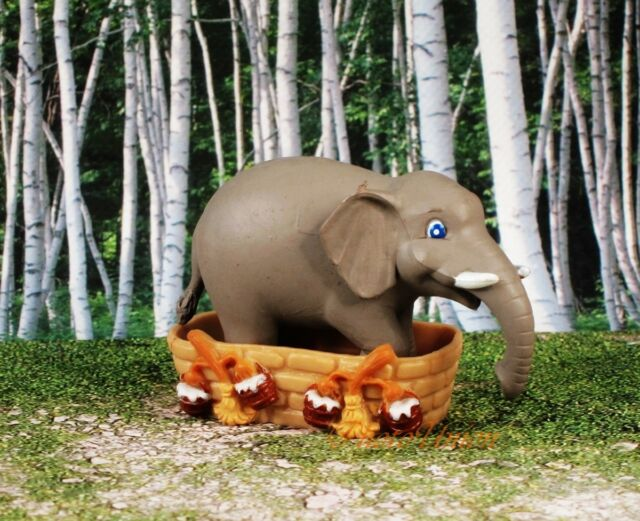 Disney Elephant Cake Topper Display Statue Figure Model A570