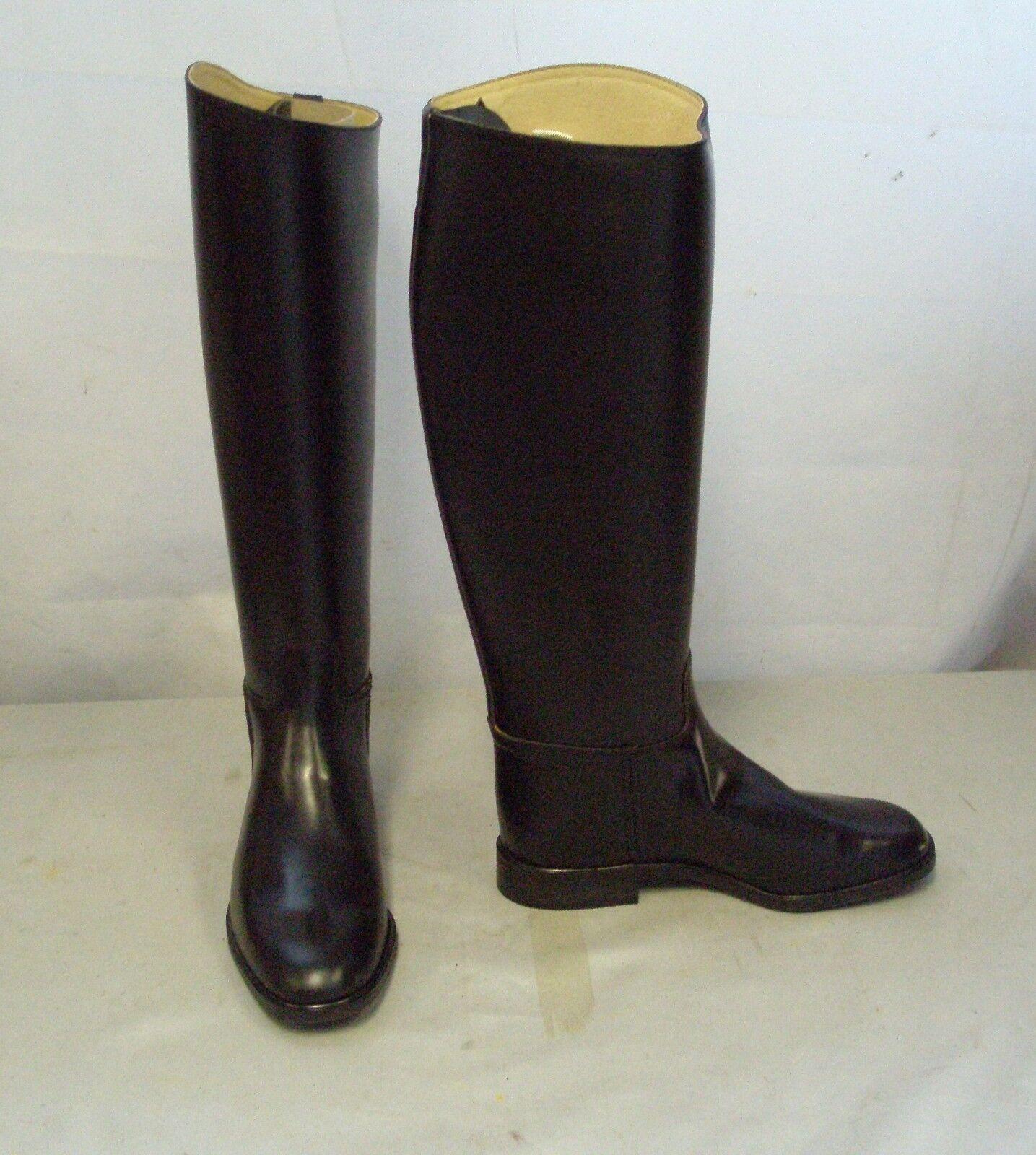 Regent Chaser Leder Long Riding Stiefel Größe 6 Standard Calf
