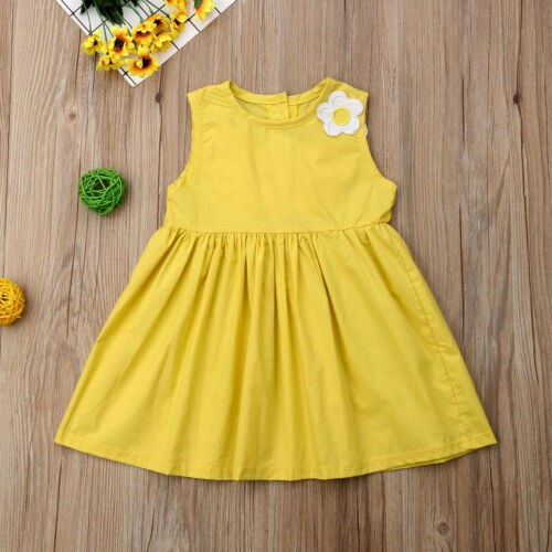 Baby Girls Dress Kids Baby Party Flower Dresses Birthday Party Tutu Dress